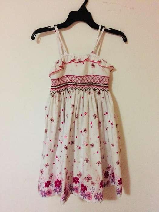 Hermoso Vestido para niña de 5 a 6 años