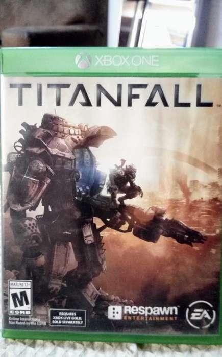 Titan Fall Xbox One Fisico Original