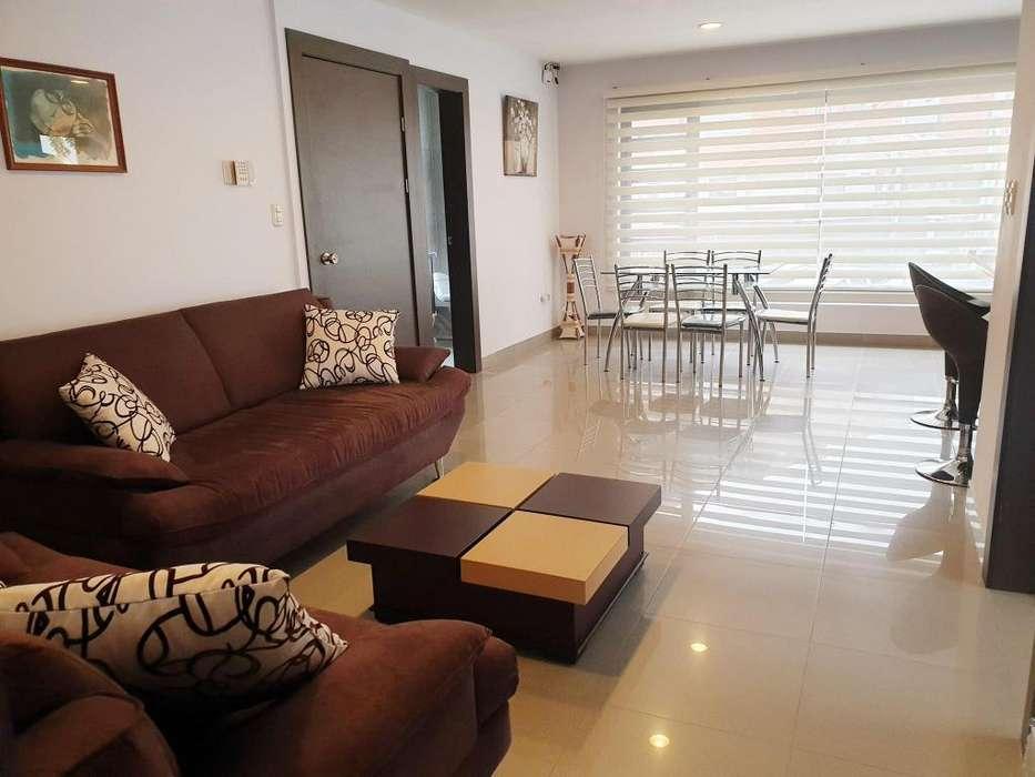 Departamento amoblado en alquiler dos dormitorios con Terraza en Vista Linda