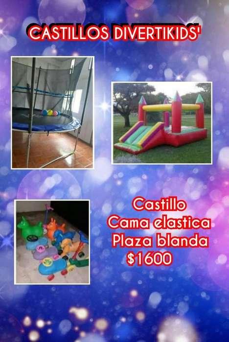 Castillo Inflable Cama Elastica