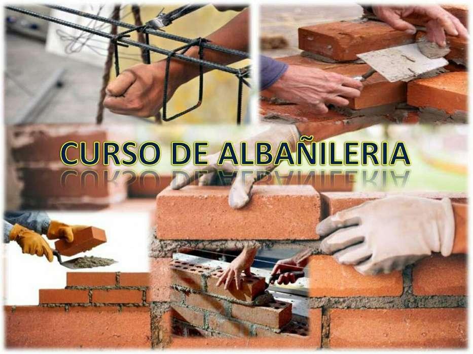 Curso de Albañileria Promo 3 X 1