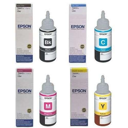 TINTAS EPSON ORIGINAL L200 L210 L355 L555
