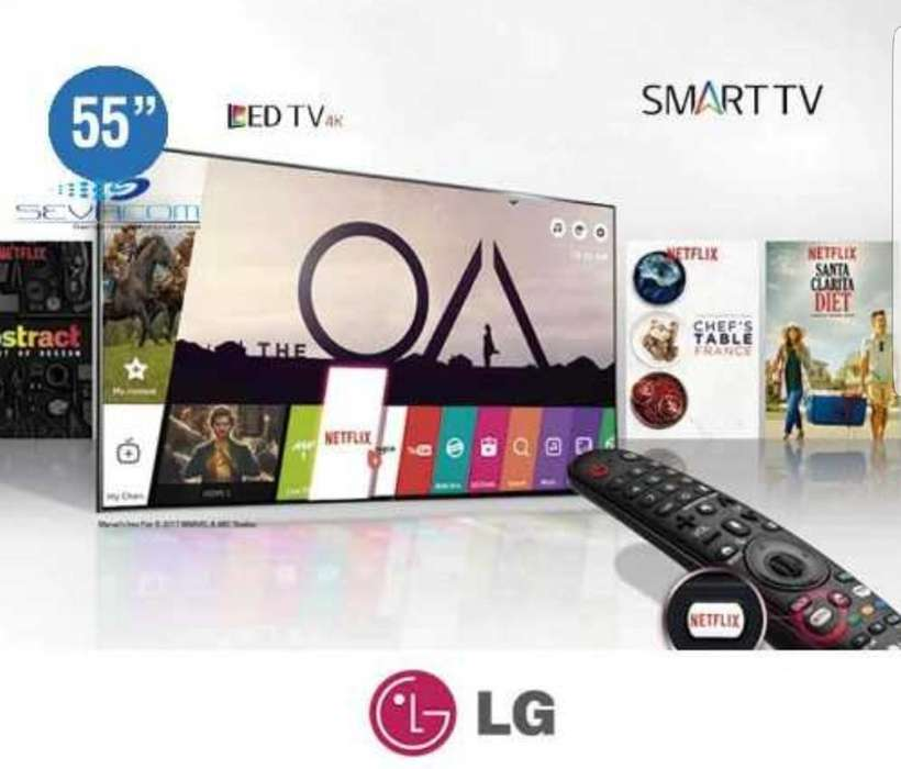 Smart Tv Lg 55 Uhd 4k Magic Control