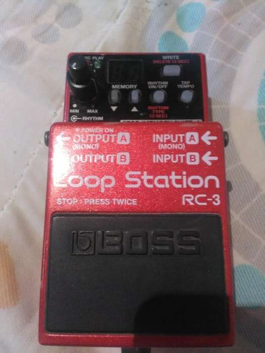 VENDO pedal BOOS loop station RC 3
