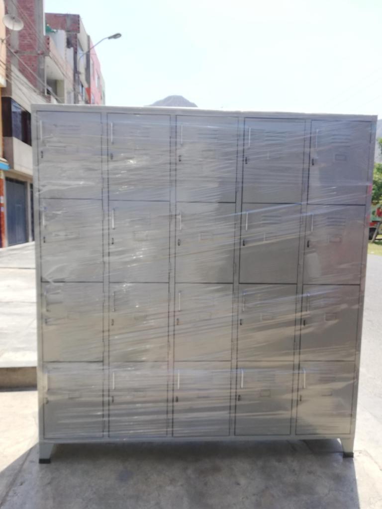 Locker 20 puertas / fabricantes de lockers