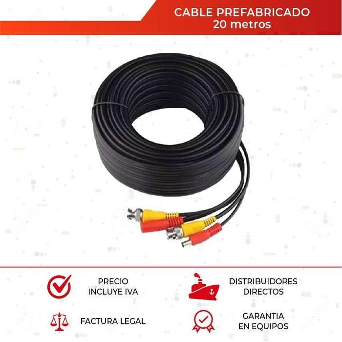 Cable Prefabricado. <strong>video</strong> Balum. Fuente. Cctv. 20 Mts. <strong>video</strong> Vigilancia.