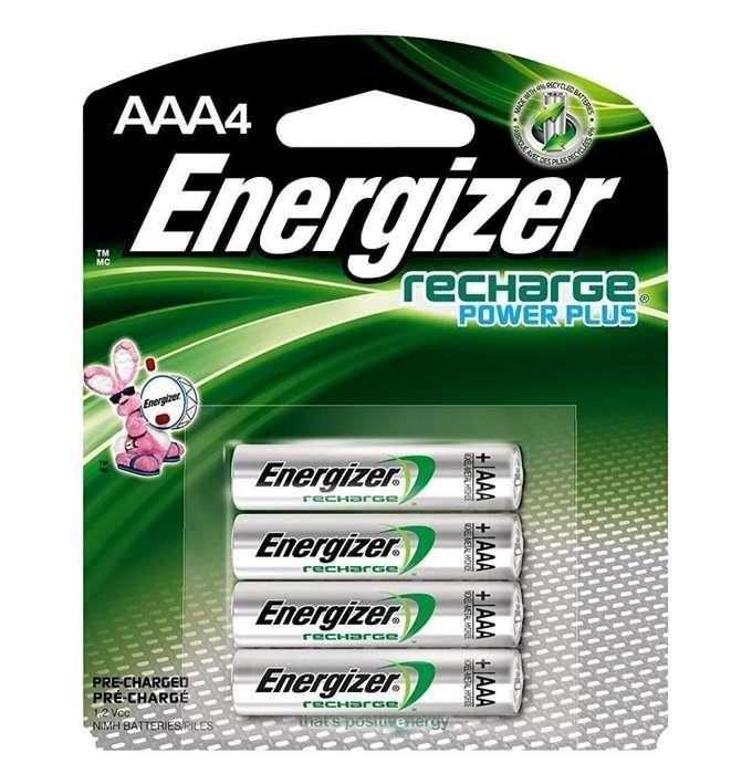 <strong>bateria</strong>S RECARGABLES AAA