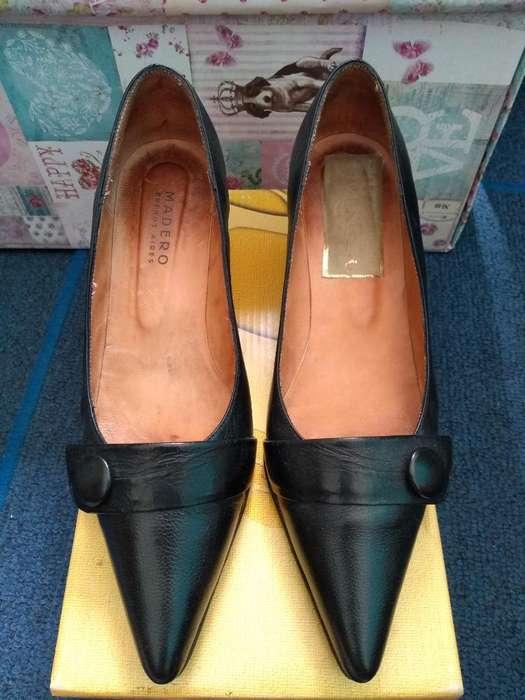 Stilettos Negros N 37