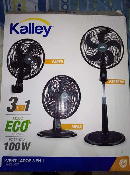 Ventilador 3en1 Marca Kalley