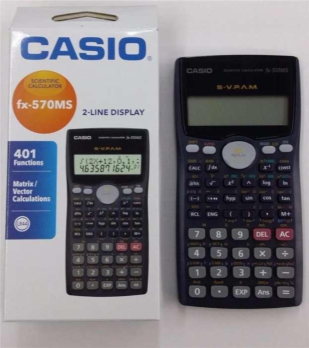<strong>calculadora</strong> Cientifica Casio Fx-570 Ms