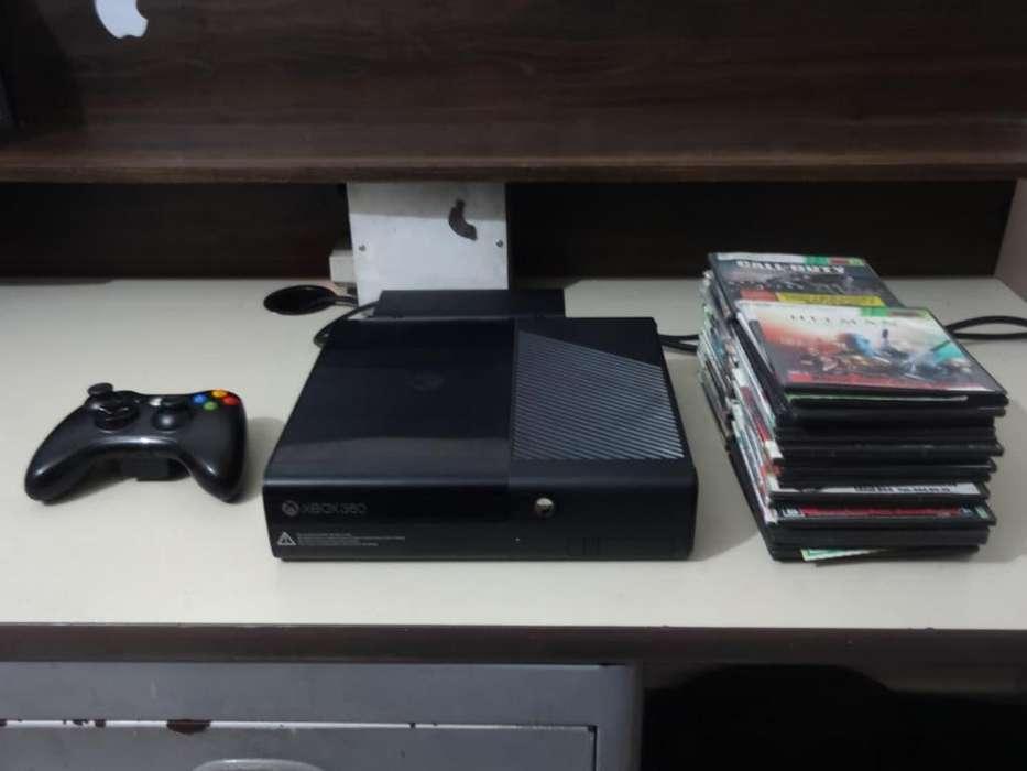 Xbox 360 Slim E 500GB chip RGH 1 Control y juegos