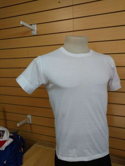 Remeras Spum Sublimable con Tapacostura
