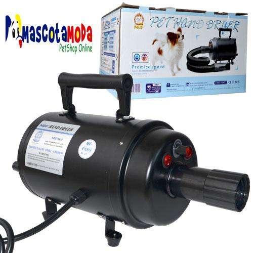 Sopladora secadora profesional para perros peluqueria estetica canina