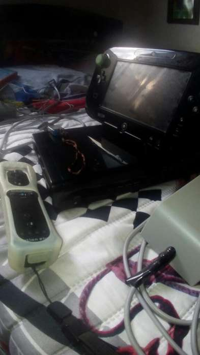 Wii U con Juegos Y Memoria