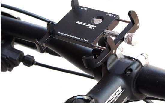 Soporte Universal de celular para bicicleta marca GUB PRO 2
