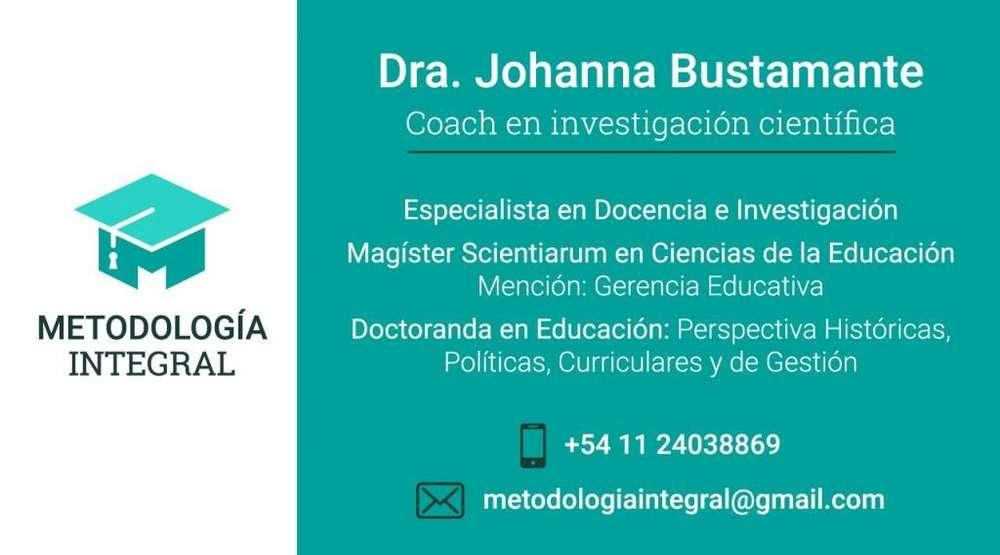 ASESORÍA DE TESIS, TESINAS, TRABAJOS DE INVESTIGACIÓN