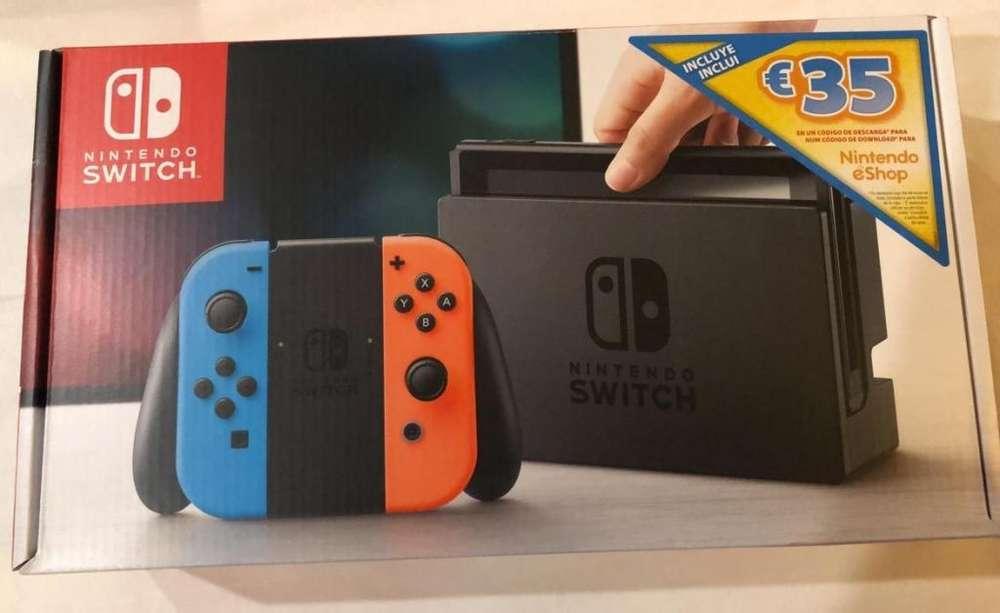 Nintendo Switch 32Gb 35 Euros E-Shop