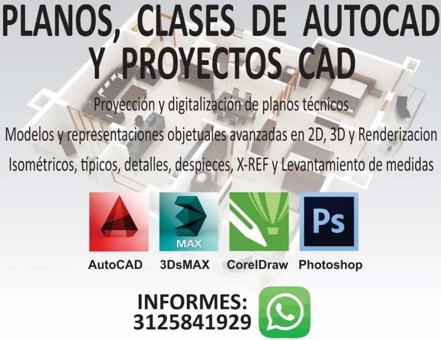 Clases AutoCAD, Digitalización de Planos y Proyectos CAD