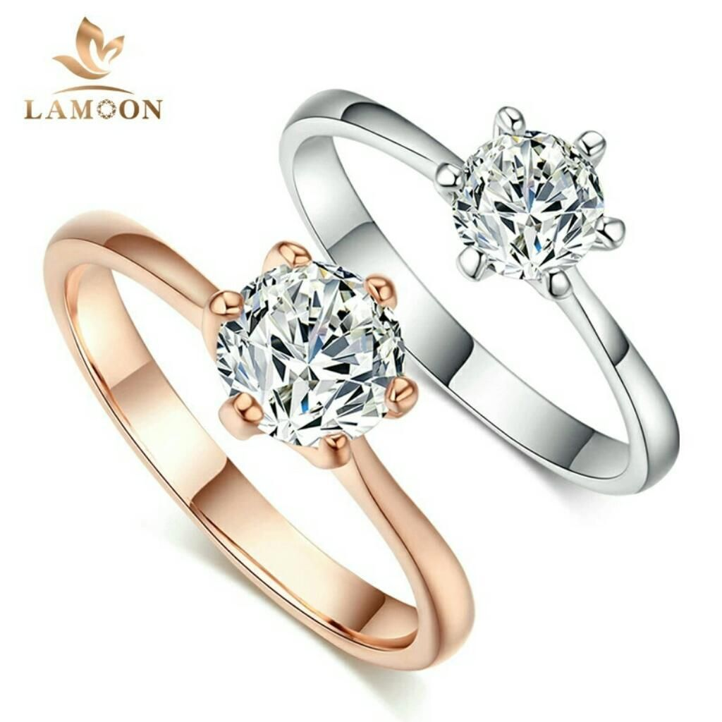 0f931be3282c Anillos de Compromiso Oro 18k con Diamantes Aniversario Matrimonio Boda  Mujer Hombre