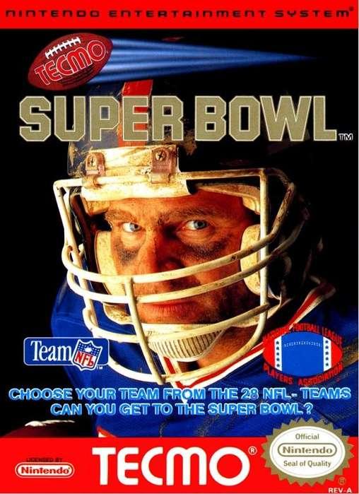 Cartucho Nintendo Nes Tecmo Super Bowl Original USA