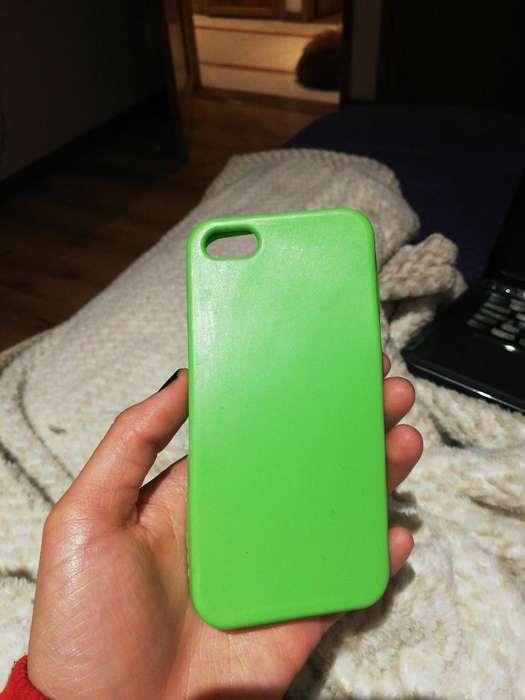Forro Verde iPhone 5