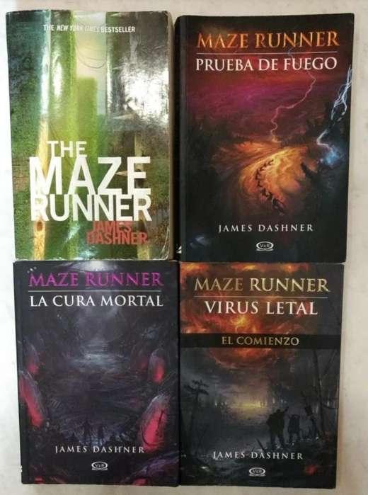 Saga Maze Runner Libros 2-4