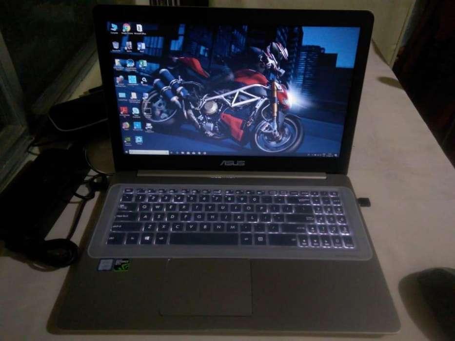 Gamer Asus VivoBook Pro Nvidia4gb Gtx1050 Core i7 7700HQ a 8 núcleos RAM 16gb Webcam HD720p FHD