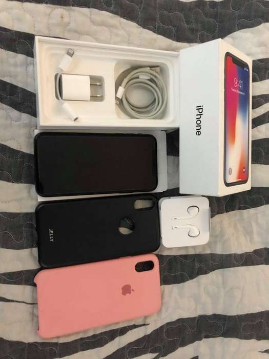 Iphone X 64GB IMPECABLE, RECIBO EQUIPOS COMO PARTE DE PAGO, CELULARES, LAPTOPS, PLAY 4.