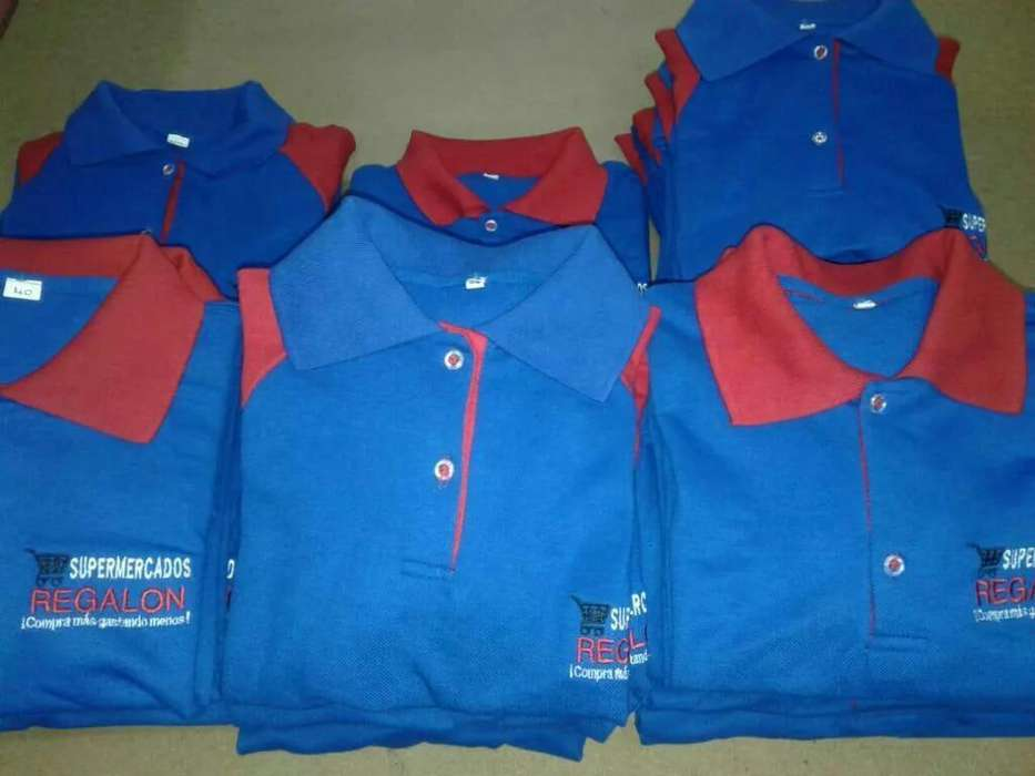 Camisetas Polo con Logos Bordados
