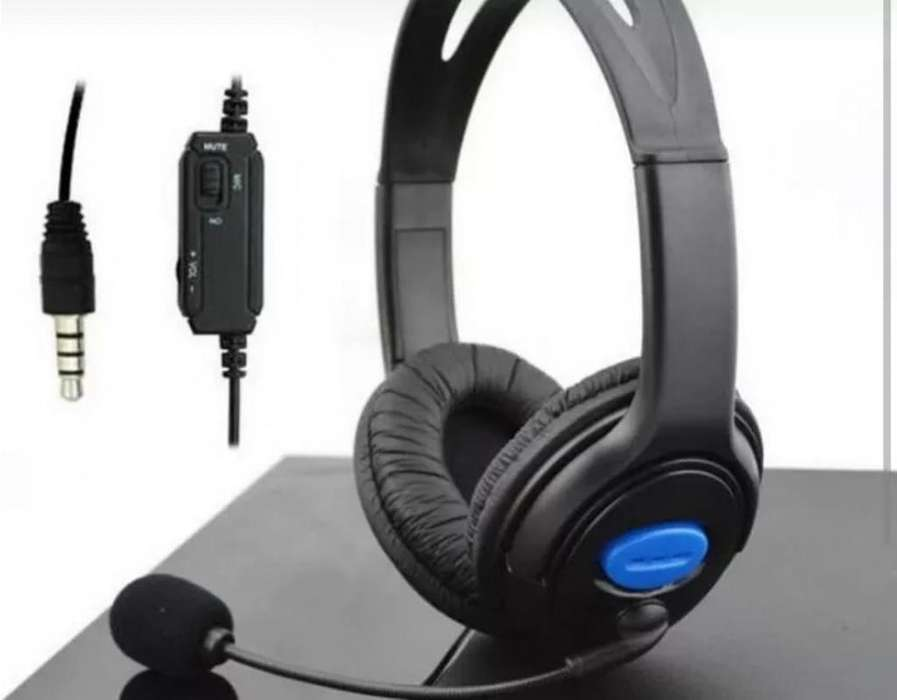 Audifonos Auricular Gamer Para Ps4 Y Pc Con Microfono