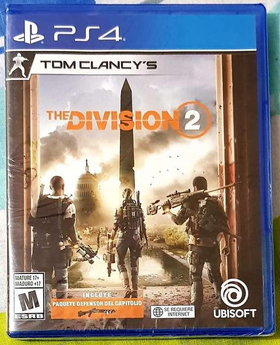 The Division 2 Ps4 Nuevos Y Sellados