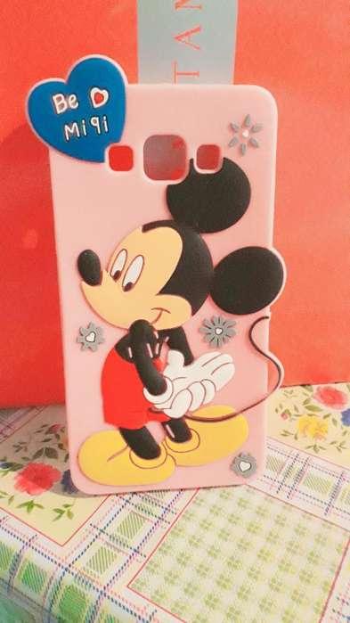 Funda Mickey para Samsung J5 Prime.