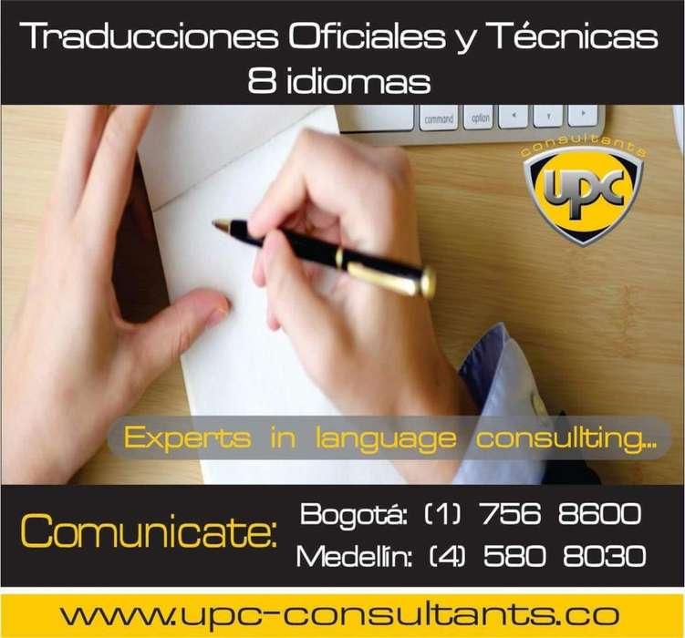 NECESITAS TRADUCCIONES OFICIALES O TÉCNICAS? TENEMOS 8 IDIOMAS CERTIFICADOS ANTE CANCILLERIA....(1) 7568600***