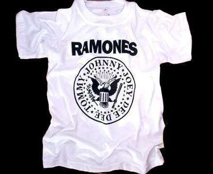 Remeras Rock Niños Sublimadas