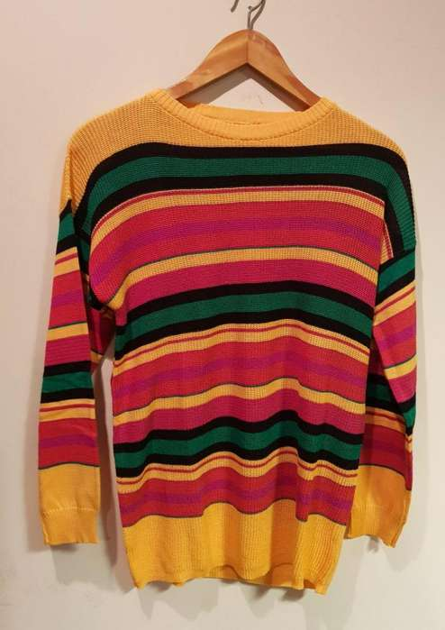 Sweater <strong>mujer</strong> hilo. NUEVO. Talle M