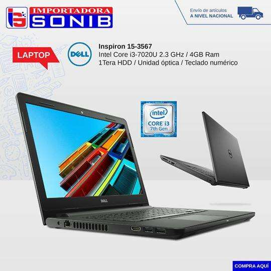 LAPTOP DELL CORE I3 7ma generacion