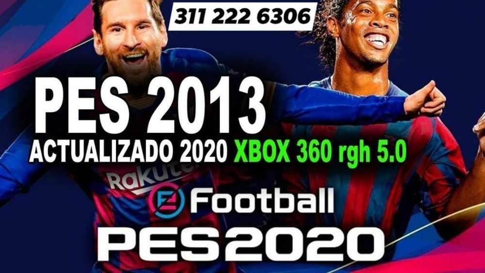 Pes 2013 Te Portada 2020 Xbox 360 5.0