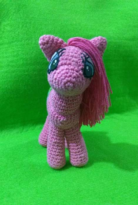 Pony en Crochet