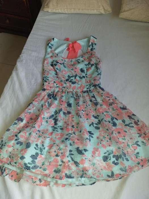 Vestido Corte Princesa, Talla S