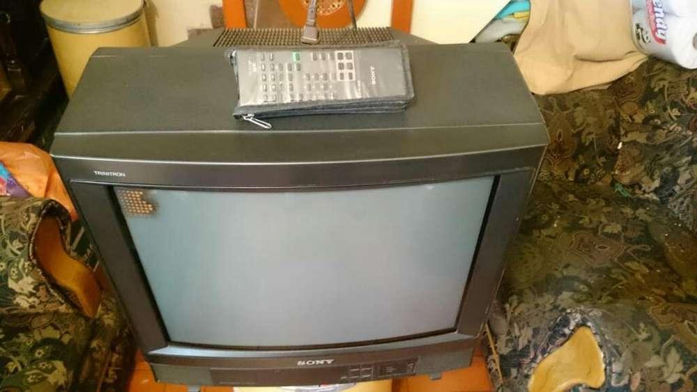 <strong>televisor</strong> Sony Trinitron 21 Pulgadas.