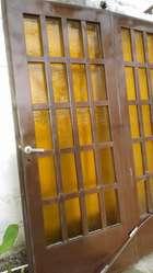Portón de chapa corredizo