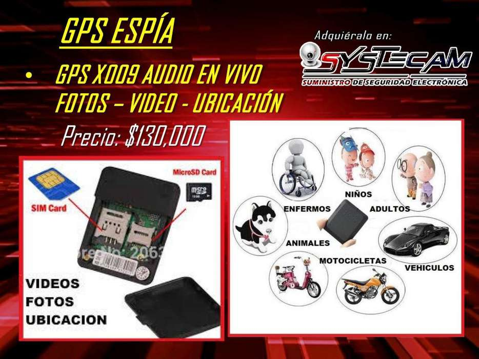 Mini <strong>gps</strong> Espia modelo ubicacion X009 que localiza graba video audio foto en tiempo real