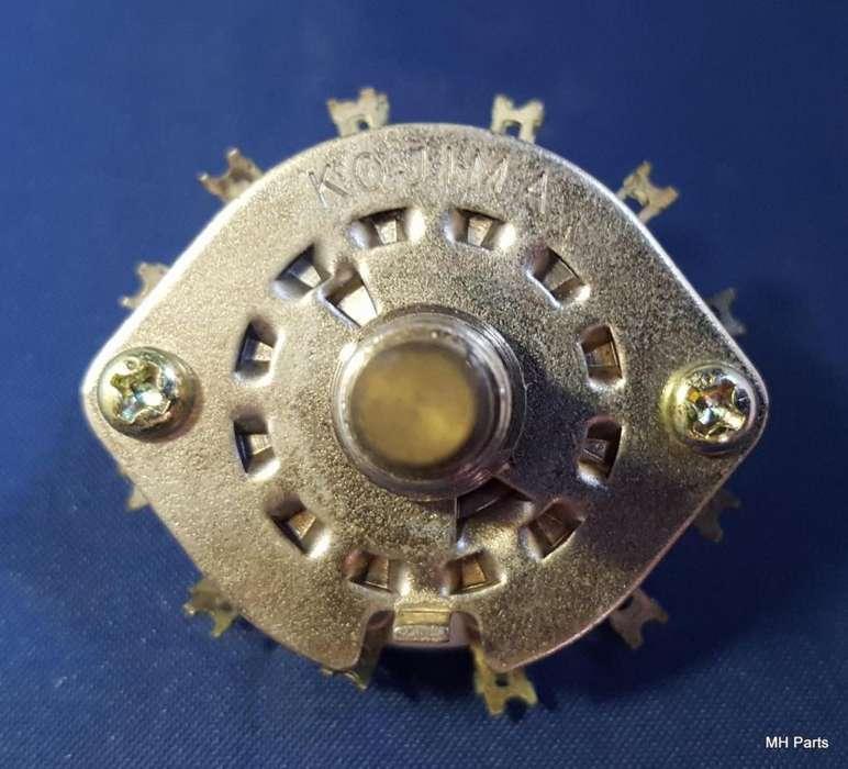 Interruptor rotativo de cerámica NOS Kojima Escazo