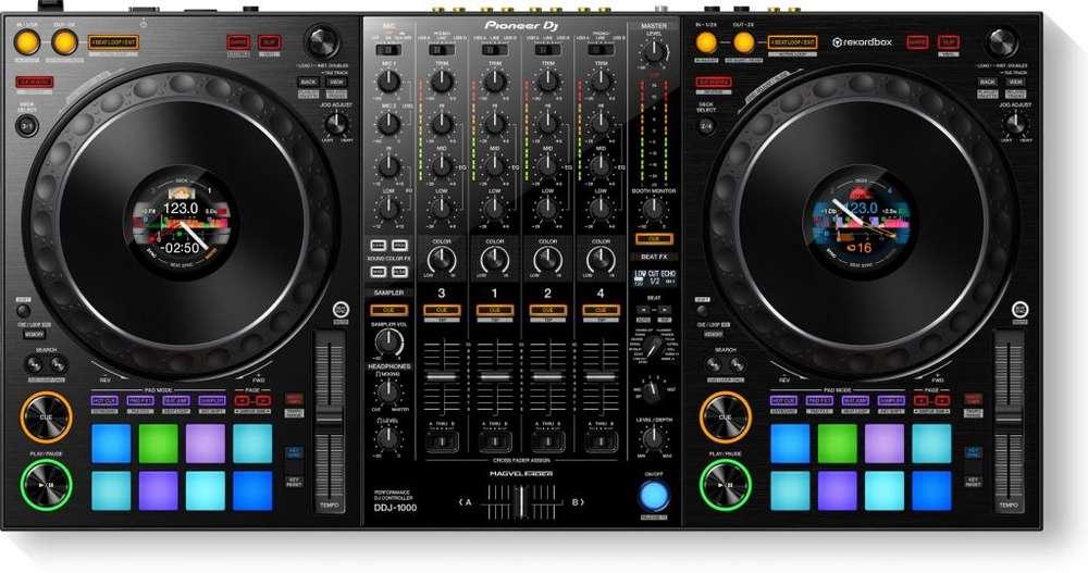 Controlador Pioneer DDJ-1000 DJ <strong>software</strong> Rekordbox