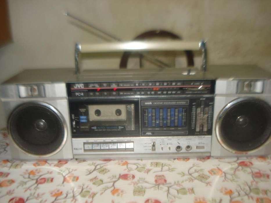 Radiograbador Jvc Pc4j Funcionando Ent Rca Exc Sonido!!