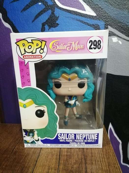Funko Pop Sailor Moon Neptuno
