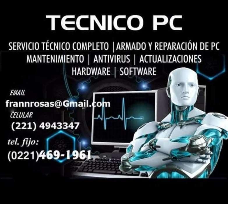 Servicio Tecnico de Pc Completo