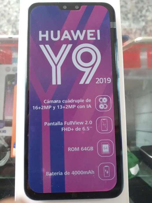 Huawei Y9 2019 Nuevo en Caja Recibo Usad