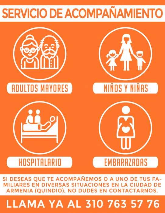 Acompañamiento de Adultos y Cuidado de Niños