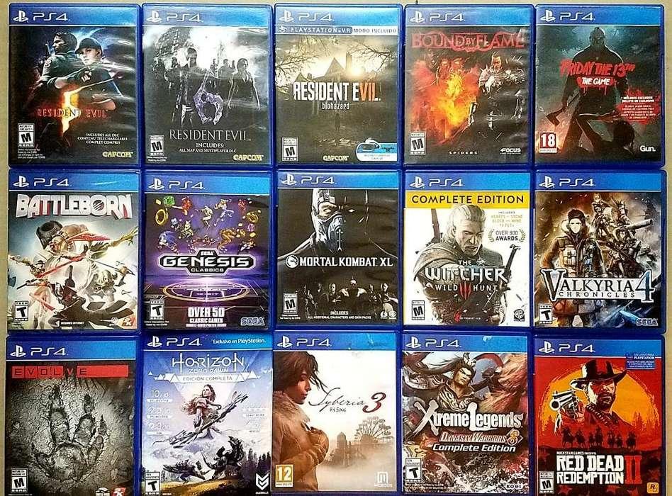 Juegos Play Station4 / Xbox 360